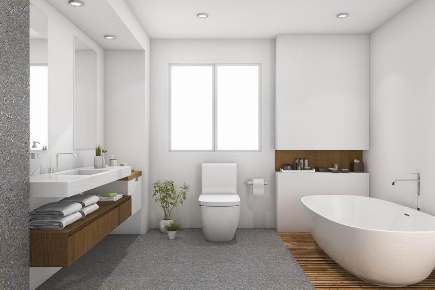 Nouvelle magnifique salle de bain